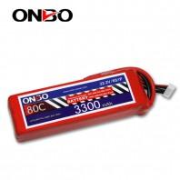 ONBO 80C 6S 22.2V 3300mAh lipo