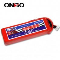 ONBO 80C 6S 22.2V 4050mAh lipo