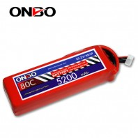 ONBO 80C 6S 22.2V 5200mAh lipo
