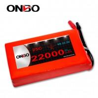ONBO DJI S1000 22000mAh 25C Lipo