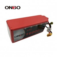 ONBO 16000mAh 22.2V 25C 6S2P Lipo Battery Pack