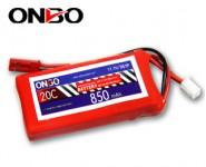 ONBO 20C 3S 11.1V 850mAh lipo