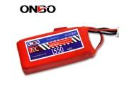 ONBO 20C 3S 11.1V 1550mAh lipo