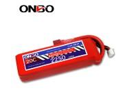 ONBO 20C 2S 7.4V 2250mAh lipo