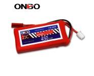 ONBO 25C 2S 7.4V 450mAh lipo