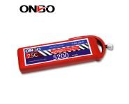 ONBO 25C 2S 7.4V 5200mAh lipo