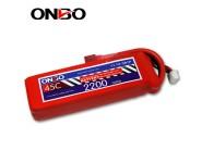 ONBO 45C 3S 11.1V 2200mAh lipo