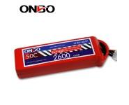ONBO 50C 4S 14.8V 2600mAh lipo
