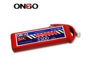 ONBO 50C 3S 11.1V 3300mAh lipo