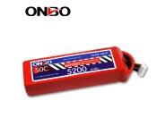 ONBO 50C 4S 14.8V 5200mAh lipo