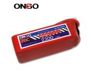 ONBO 70C 6S 22.2V 2300mAh lipo