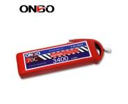 ONBO 70C 2S 7.4V 3400mAh lipo