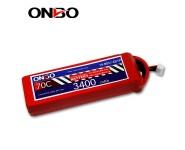 ONBO 70C 4S 14.8V 3400mAh lipo