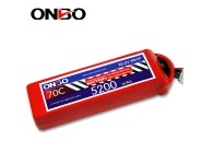 ONBO 70C 6S 22.2V 5200mAh lipo