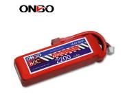 ONBO 80C 5S 18.5V 2200mAh lipo