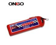 ONBO 80C 2S 7.4V 2800mAh lipo