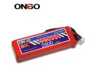 ONBO 80C 5S 18.5V 2800mAh lipo