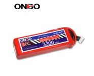ONBO 80C 4S 14.8V 3300mAh lipo