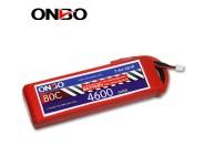 ONBO 80C 2S 7.4V 4600mAh lipo