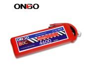 ONBO 80C 3S 11.1V 4600mAh lipo