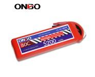 ONBO 80C 3S 11.1V 5200mAh lipo