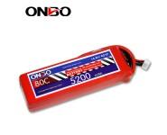 ONBO 80C 4S 14.8V 5200mAh lipo