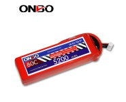 ONBO 80C 5S 7.4V 5200mAh lipo