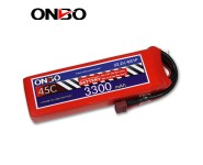 ONBO 45C 6S 22.2V 3300mAh lipo
