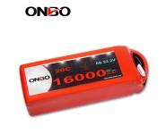 ONBO 16000mAh 22.2V 20C 6S1P Lipo Battery Pack