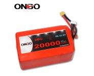 ONBO 20000mAh 22.2V 20C 6S2P Lipo Battery Pack
