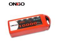 ONBO 10000mAh 22.2V 25C 6S1P Lipo Battery Pack