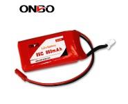 ONBO 25C 850mAh 2S LiFePO4 battery