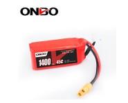 ONBO 1400mAh 14.8V 45C 4S Lipo