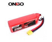ONBO 2200mAh 14.8V 80C 4S Lipo