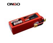 ONBO 25C 6S 22.2V 6200mAh lipo