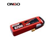 ONBO 25C 4S 14.8V 6200mAh lipo