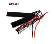 ONBO 2200mAh 11.1V 15C 3S(1+1+1) Lipo