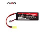 ONBO 2200mAh 7.4V 15C 2S Lipo
