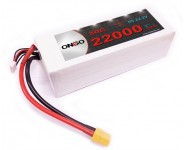 ONBO 22000mAh 22.2V 30C 6S Lipo Battery Pack