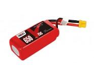 ONBO 650mAh 11.1V 75C 3S1P Lipo Battery