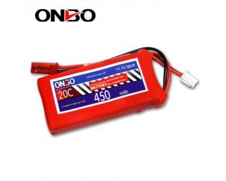 20C 3S 450mAh lipo,450mah small lipo, ONBO 3S 20C lipo,3.7V lipo battery