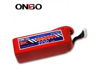 20C 5S 2250mAh lipo,2250mah lipo, ONBO 5S 20C lipo,3.7V lipo battery