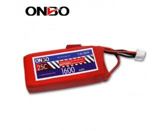 25C 2S 1600mAh lipo,1600mah lipo, ONBO 2S 25C lipo,3.7V lipo battery