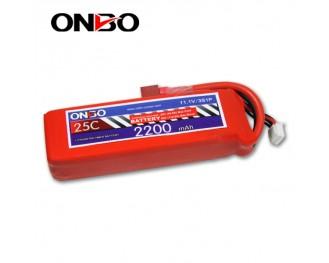 25C 3S 2200mAh lipo,2200mah lipo, ONBO 3S 25C lipo,3.7V lipo battery