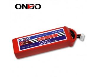 25C 5S 3300mAh lipo,3300mah lipo, ONBO 5S 25C lipo,3.7V lipo battery