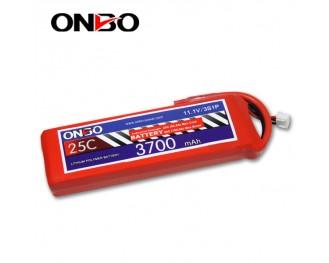 25C 3S 3700mAh lipo,3700mah lipo, ONBO 3S 25C lipo,3.7V lipo battery