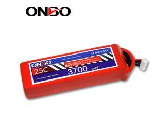 25C 4S 3700mAh lipo,3700mah lipo, ONBO 4S 25C lipo,3.7V lipo battery