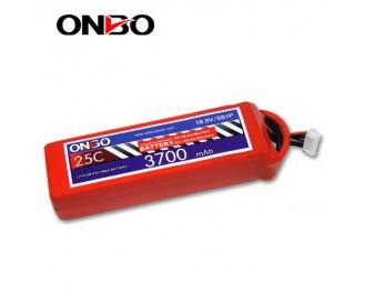25C 5S 3700mAh lipo,3700mah lipo, ONBO 5S 25C lipo,3.7V lipo battery