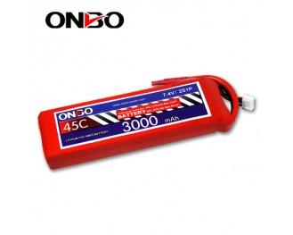 45C 2S 3000mAh lipo,3000mah lipo,ONBO 2S 45C lipo,3.7V lipo battery