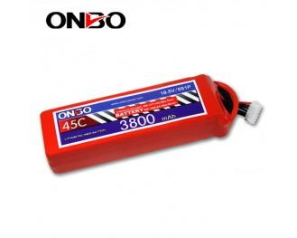 45C 5S 3800mAh lipo,3800mah lipo,ONBO 5S 45C lipo,3.7V lipo battery